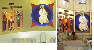 """""""Las pinturas de Argüello en La Almudena no son originales"""". ELSEMANALDIGITAL.COM, 06-05-04"""